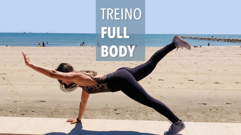 Treino full body para fazer em qualquer lugar e ficar em forma